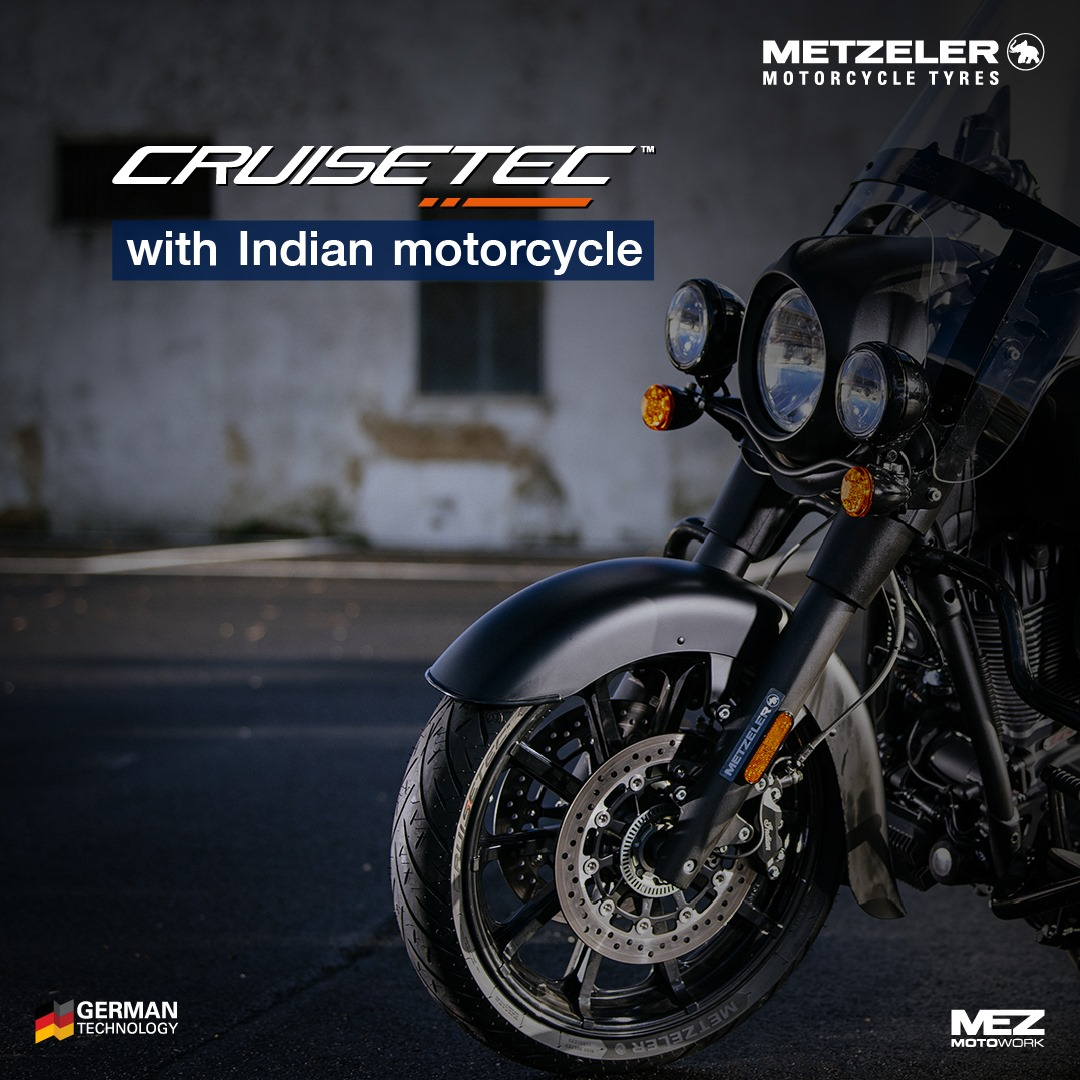Cruisetec with Indian motorcycle